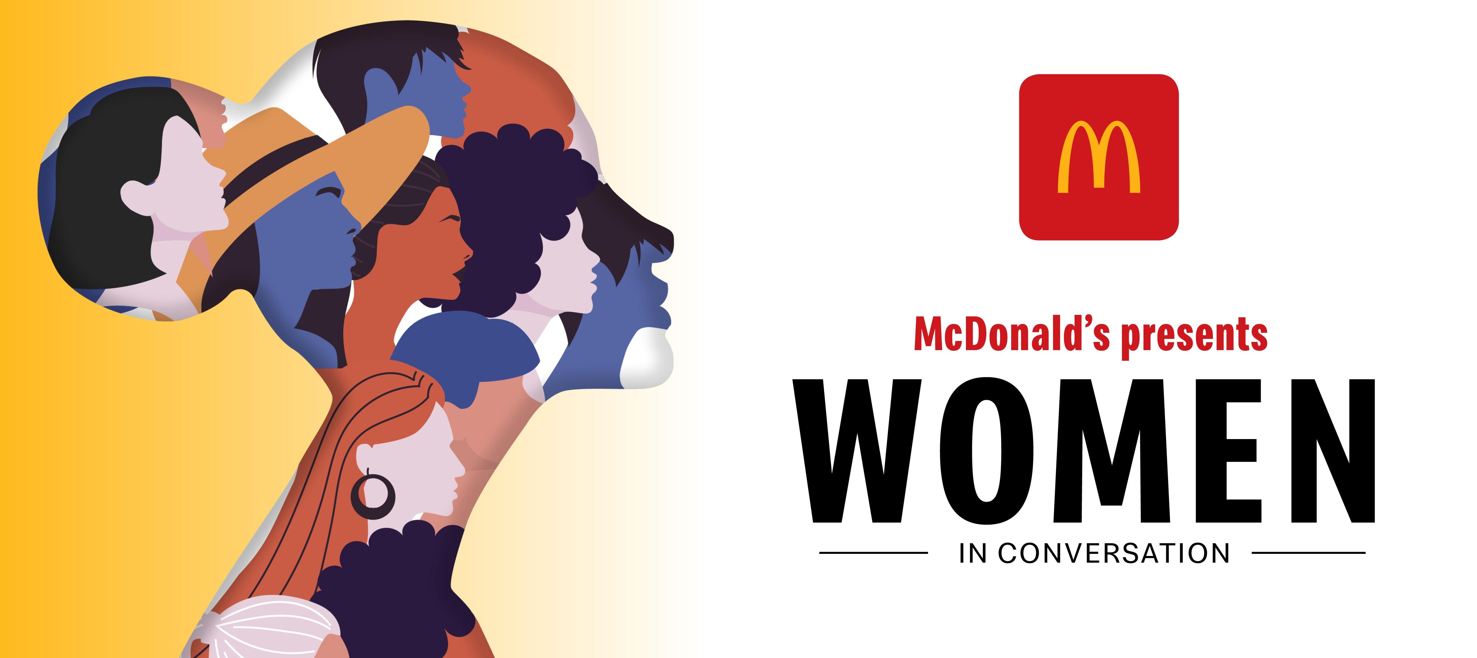 Women in conversation - McDonald's