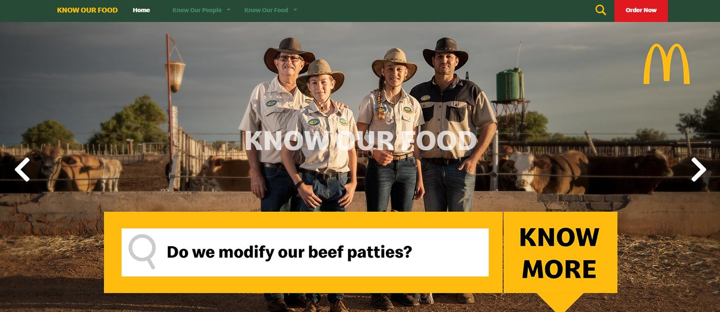 """McDonalds-McDonald's SA – """"Know Our Food"""""""