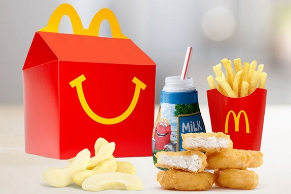 Happy Meal 2 Col - McDonald's