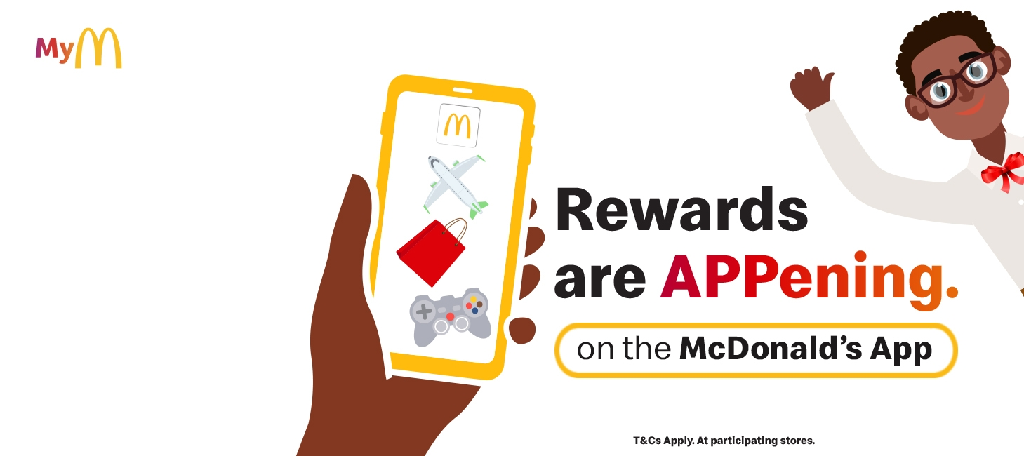 1 Million GUARANTEED rewards - McDonald's