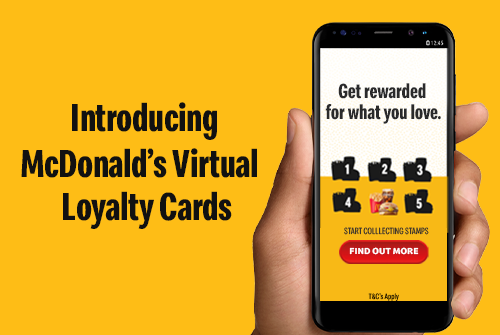 Introducing McDonald's Virtual Loyalty Cards. - McDonald's