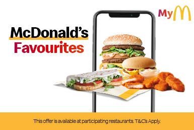 Your favourite deals are on the McDonald's App. 😋📱 - McDonald's
