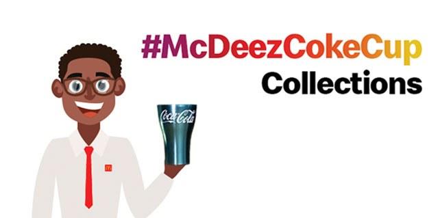 #McDeezCokeCups - McDonald's