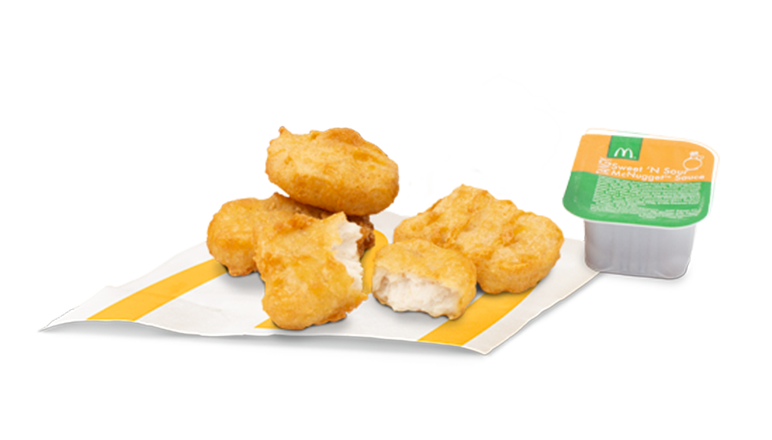 4 Piece Chicken McNuggets® - McDonald's