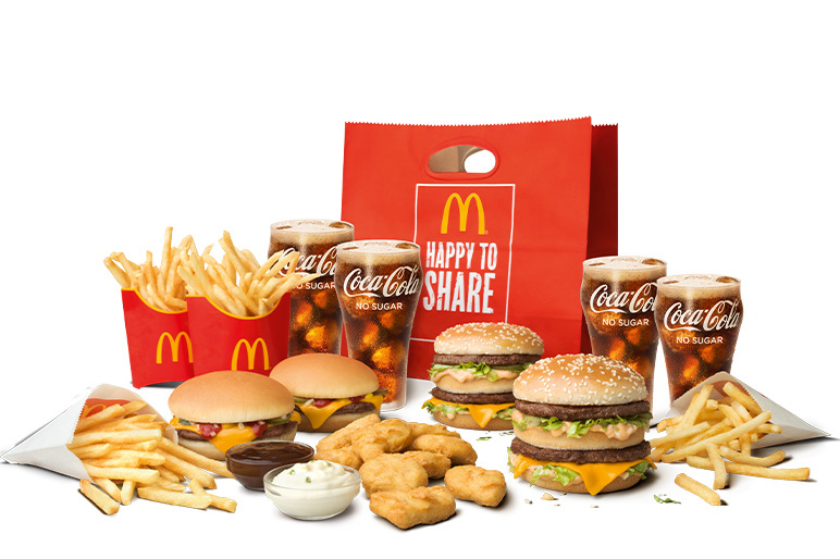 Beef Sharebag - McDonald's