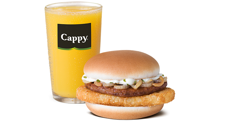 Boerie & Hash Brown Stack with Small Juice - McDonald's