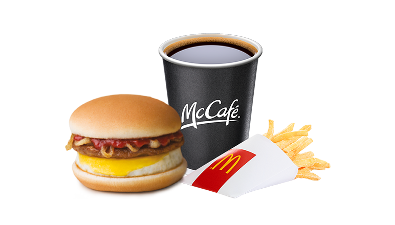 Boerie & Egg Meal with Fries & Small Coffee - McDonald's