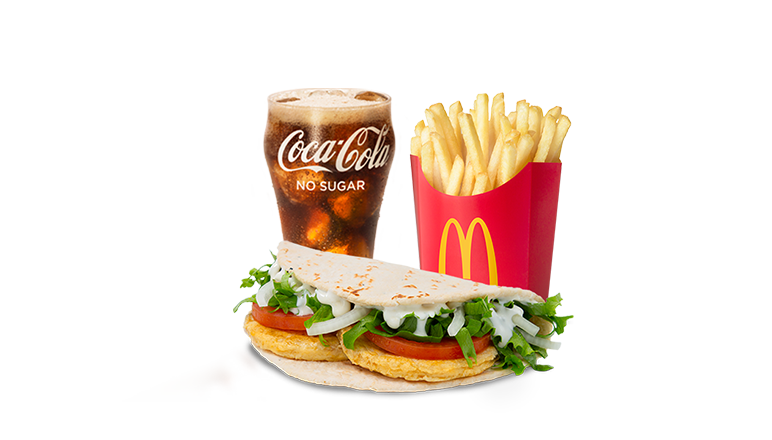 Chicken Foldover Meal - McDonald's