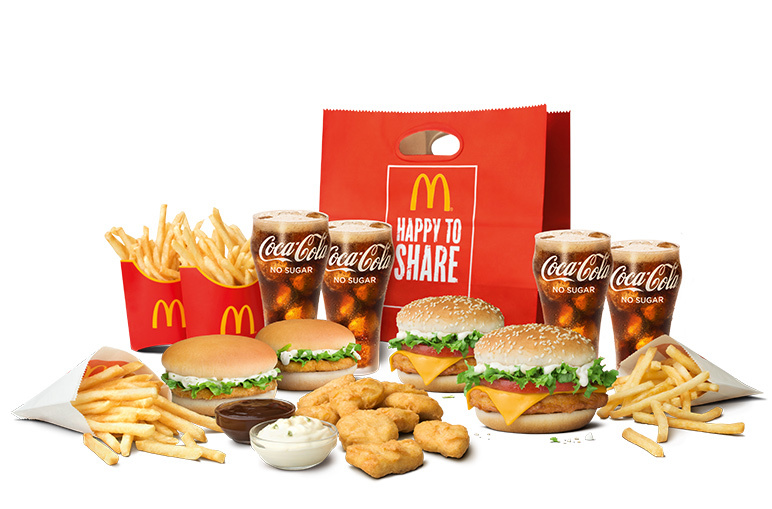 Chicken Sharebag - McDonald's