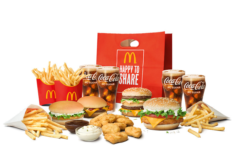 Combo Sharebag - McDonald's