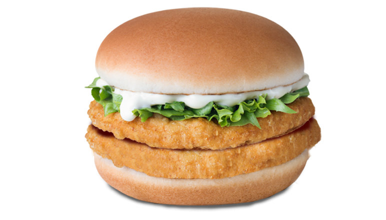 Double Chicken Burger - McDonald's