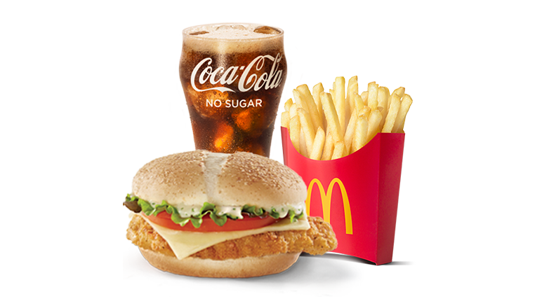 Grand Chicken McChicken® Sauce Meal - McDonald's