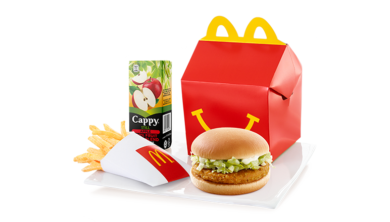 Chicken Burger Happy Meal® - McDonald's