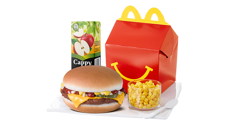 Cheese Burger Happy Meal® with Corn - McDonald's