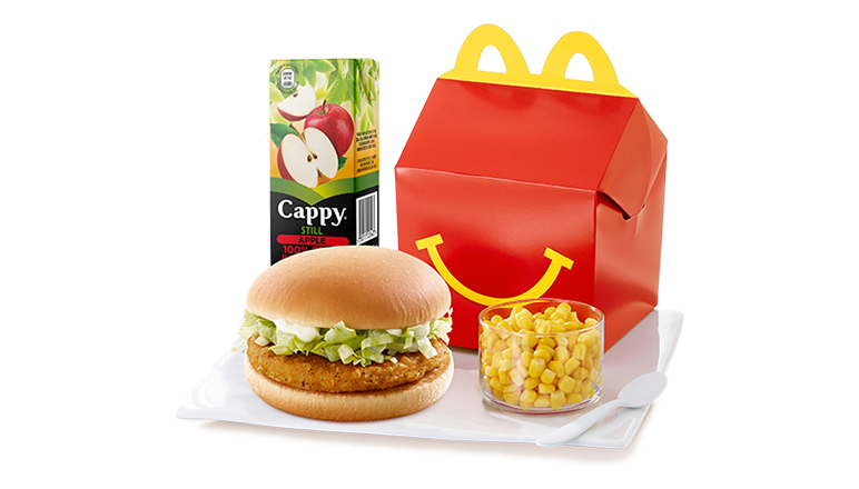 Chicken Burger Happy Meal® with Corn - McDonald's
