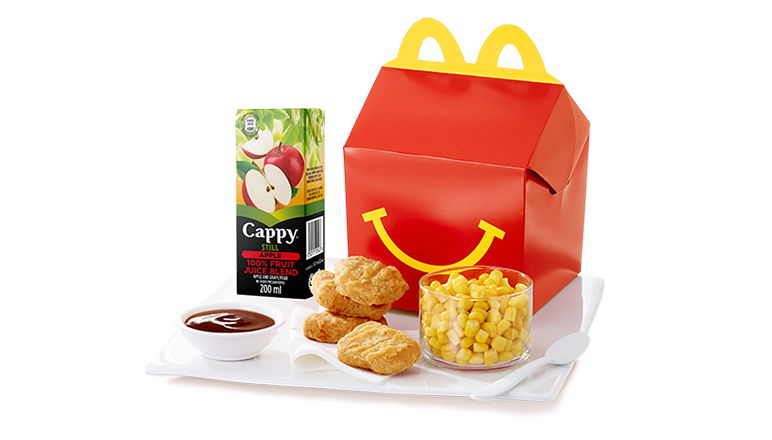 4 Piece Chicken McNuggets® Happy Meal with Corn - McDonald's