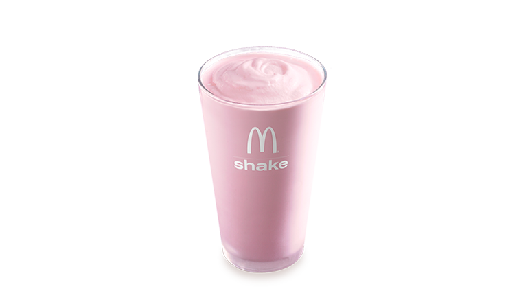 Strawberry Shake - McDonald's