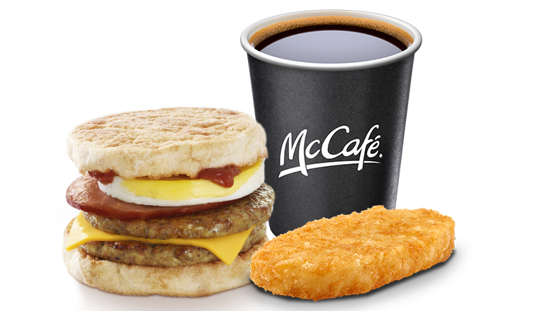 Mega McMuffin® Meal - McDonald's