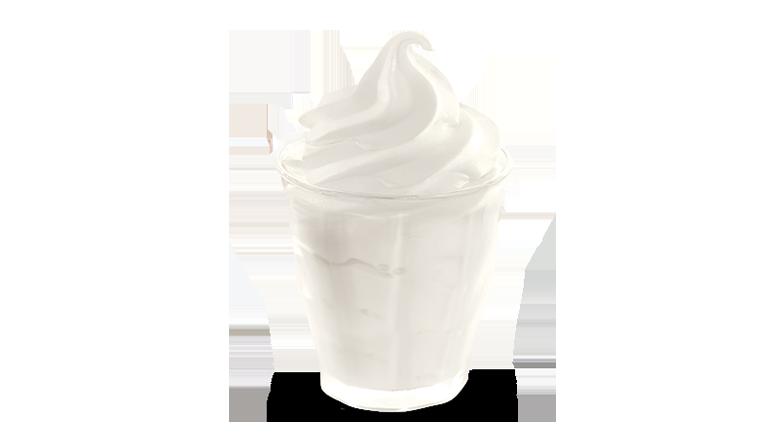 Plain Sundae - McDonald's