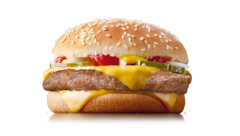Quarter Pounder® with Cheese - McDonald's