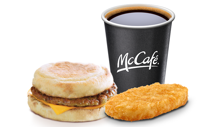 Sausage McMuffin® Meal - McDonald's